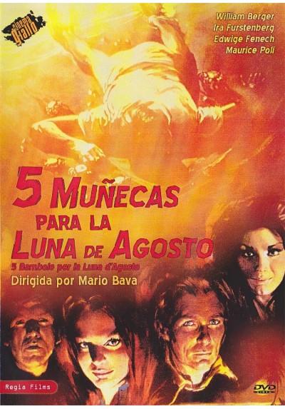 5 Muñecas Para La Luna De Agosto (Il Rosso Segno Della Follia)