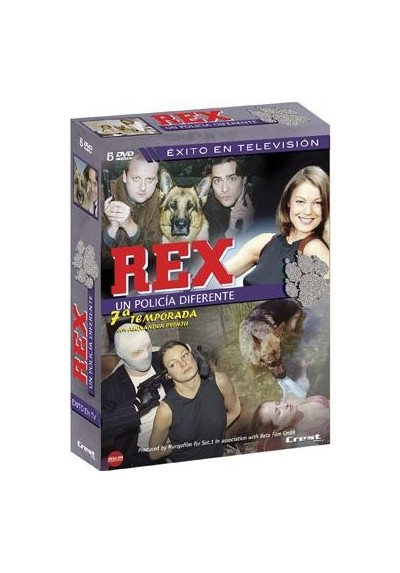 Rex : Un Policia Diferente - 7ª Temporada (Kommissar Rex)