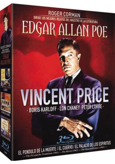 Pack Vincent Price - El Pendulo de la muerte / El Cuervo / El Palacio de los Espiritus