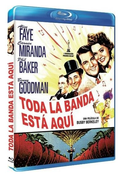 Toda la banda esta aqui (Blu-Ray) (The Gang's All Here)