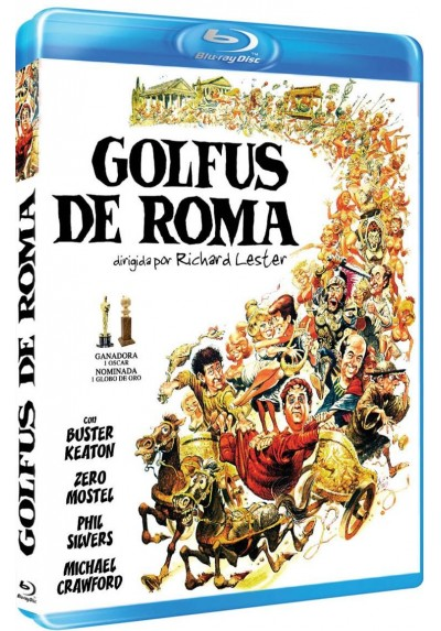 Golfus De Roma (A Funny Thing Happened On The Way To The Forum) (Blu-Ray)