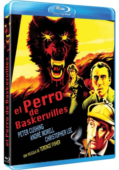 El perro de Baskervilles (Blu-Ray) (The hound of the Baskervilles)