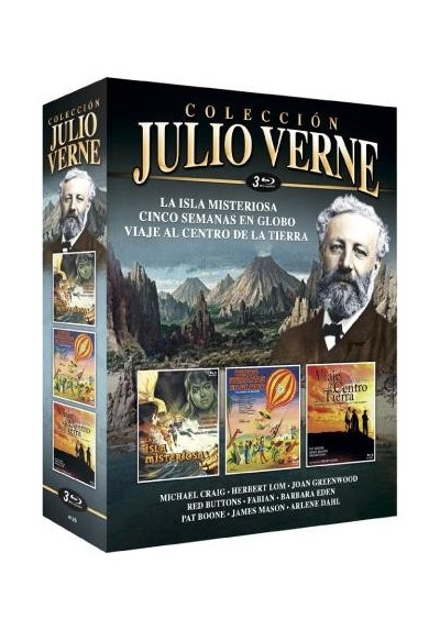 Pack Julio Verne - Coleccion (Blu-Ray)