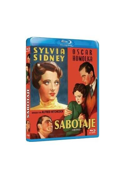 Sabotaje (1936) (Blu-Ray) (Sabotage)