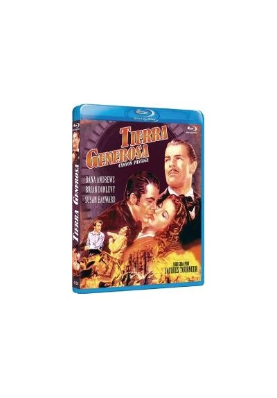 Tierra Generosa (Blu-Ray) (Canyon Passage)