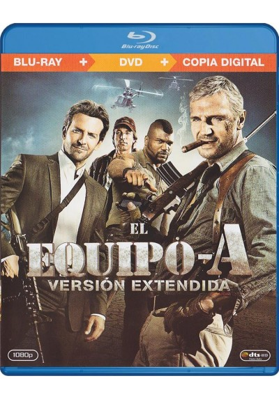 El Equipo A (Blu-Ray + Dvd + Copia Digital) (The A-Team) (Blu-Ray)