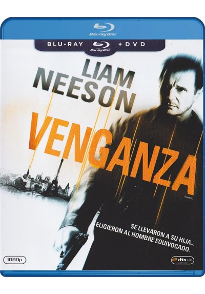 Venganza (Blu-Ray + Dvd) (Taken)