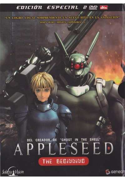 Appleseed, The Beginning (Edicion Especial) (Appurushido)