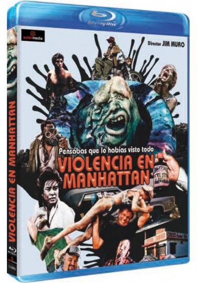 Violencia en Manhattan (Blu-Ray)