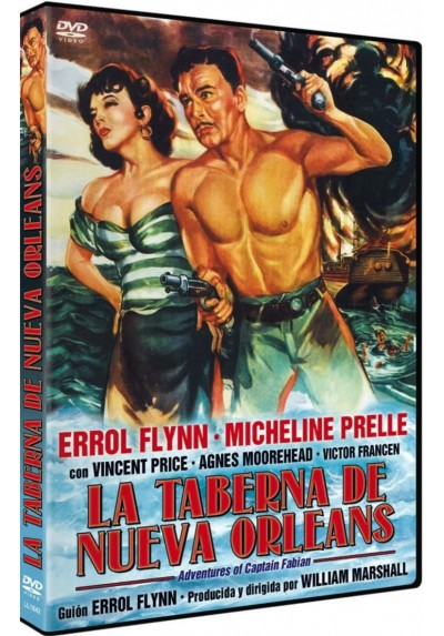La taberna de Nueva Orleans (Adventures of Captain Fabian)
