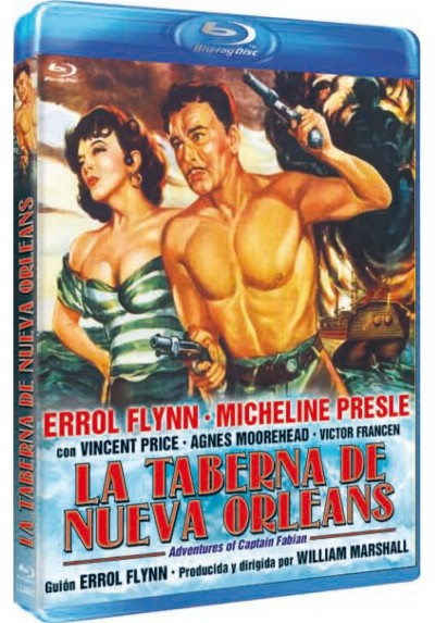 La taberna de Nueva Orleans (Adventures of Captain Fabian) (Blu-Ray)