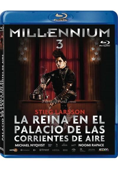 Millennium 3 : La Reina En El Palacio De Las Corrientes De Aire (Blu-Ray) (Luftslottet Som Sprängdes)