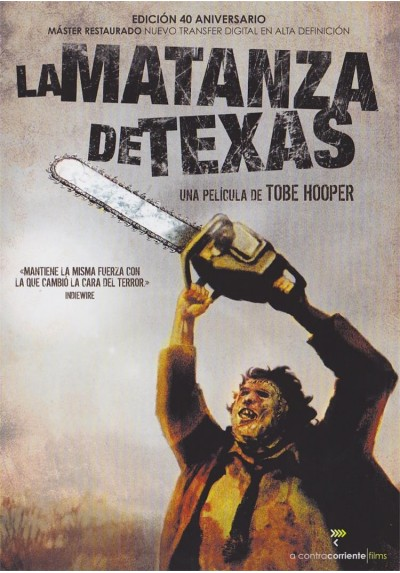 La Matanza De Texas (1974) (Ed. 40 Aniversario) (The Texas Chainsaw Massacre)