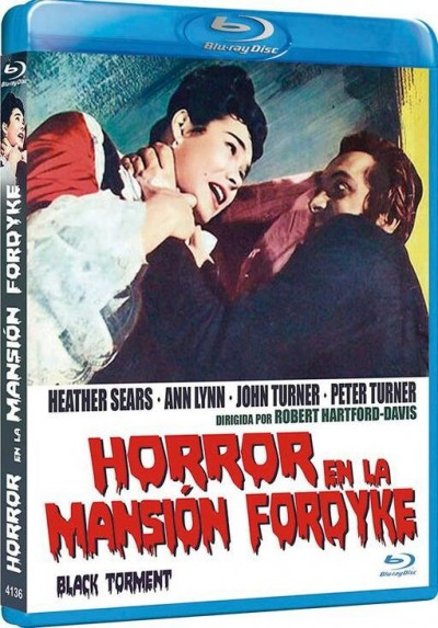 Horror En La Mansion Fordyke (Blu-Ray) (The Black Torment)
