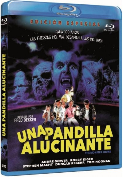 Una Pandilla Alucinante (The Monster Squad) (Blu-Ray)