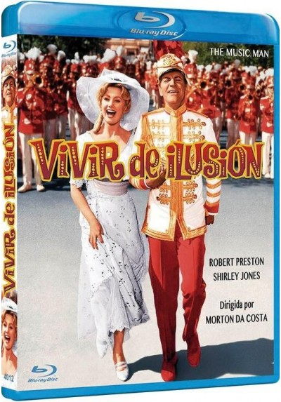 Vivir De Ilusion (Blu-Ray) (The Music Man)