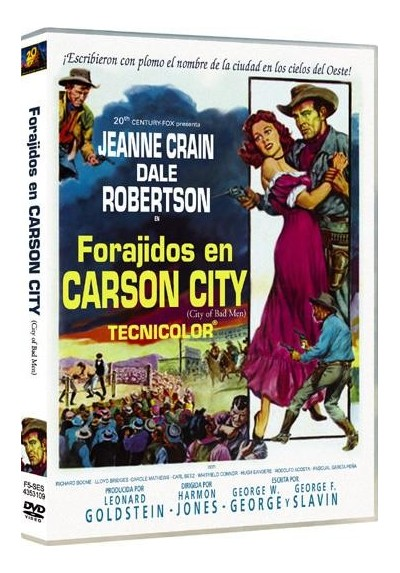 Forajidos En Carson City (City Of Bad Men)