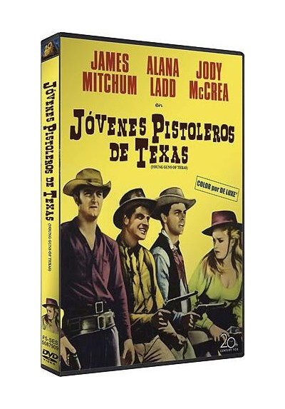 Jovenes Pistoleros De Texas (Young Guns Of Texas)
