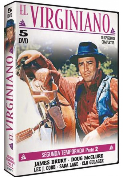 El Virginiano : 2ª Temporada - 2ª Parte (The Virginian)