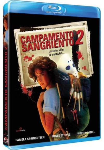 Campamento Sangriento 2 (Blu-Ray) (Sleepaway Camp II: Unhappy Campers)