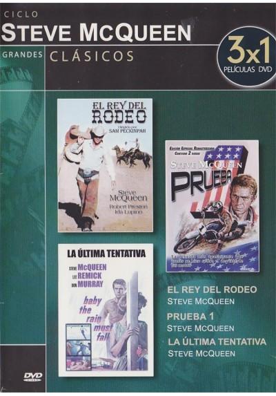 Ciclo Steve McQueen - El Rey Del Rodeo / Prueba 1 / La Ultima Tentativa (Estuche Slim)