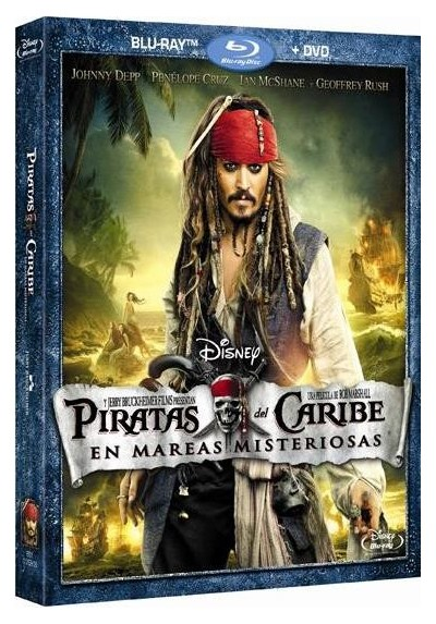 Piratas Del Caribe : En Mareas Misteriosas (Blu-Ray + Dvd) (Pirates Of The Caribbean: On Stranger Tides)