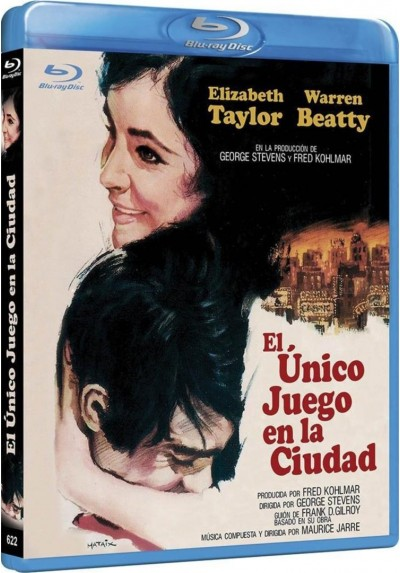 El Unico Juego En La Ciudad (Blu-Ray) (The Only Game In Town)