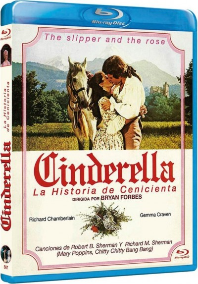 Cinderella : La Historia De Cenicienta (Blu-Ray) (The Slipper And The Rose: The Story Of Cinderella)