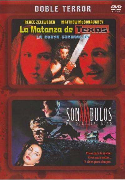 Doble terror: La Matanza De Texas : La Nueva Generacion / Sonambulos