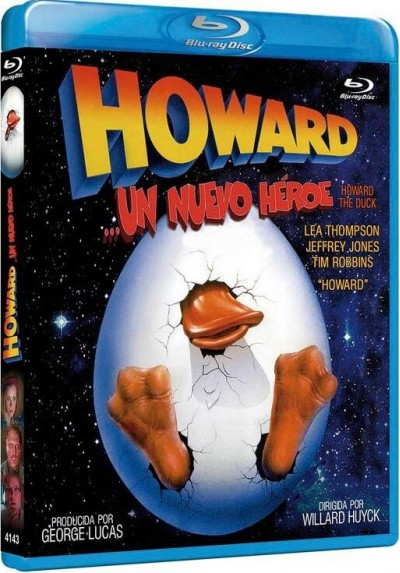 Howard : Un Nuevo Heroe (Blu-Ray)  (Howard The Duck)