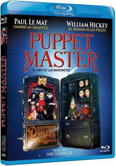 El Amo De Las Marionetas (Blu-Ray) (Bd-R) (Puppet Master)