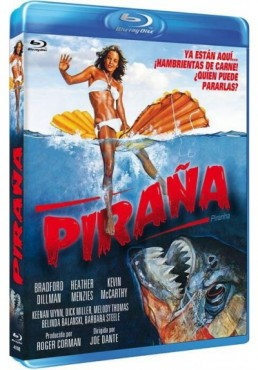 Piraña (1978) (Blu-Ray) (Bd-R) (Piranha)
