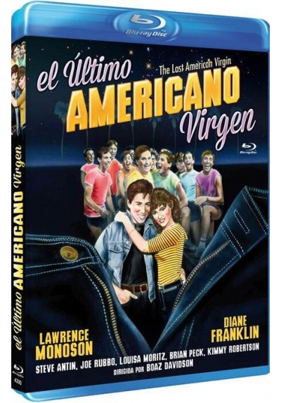 El Ultimo Americano Virgen (Blu-Ray) (Bd-R) (The Last American Virgin)
