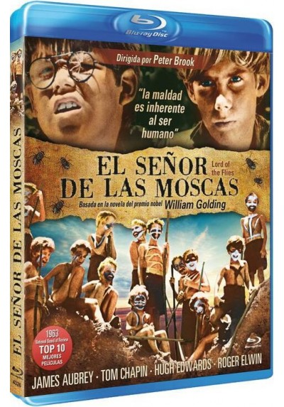 El Señor De Las Moscas (1963) (Blu-Ray) (Bd-R) (Lord Of The Flies)