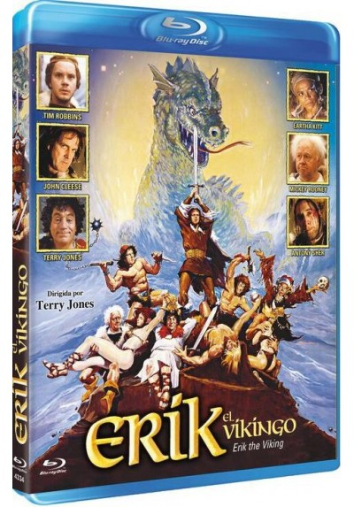 Erik El Vikingo (Blu-Ray) (Erik The Viking)