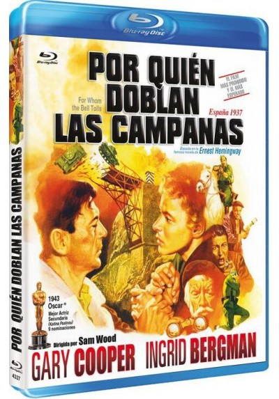 Por Quien Doblan Las Campanas (Blu-Ray) (Bd-R) (For Whom The Bell Tolls)