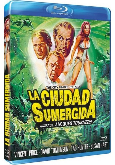 La Ciudad Sumergida (Blu-Ray) (Bd-R) (The City Under The Sea)