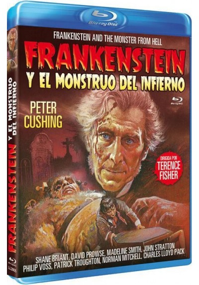 Frankenstein Y El Monstruo Del Infierno (Blu-Ray) (Bd-R) (Frankenstein And The Monster From Hell)
