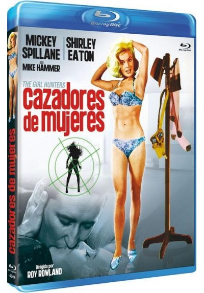 Cazadores de Mujeres (Blu-Ray) (The Girl Hunters)