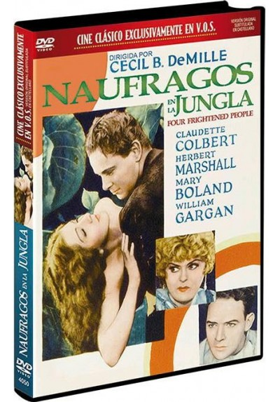 Naufragos en la Jungla (V.O.S) (Four Frightened People)
