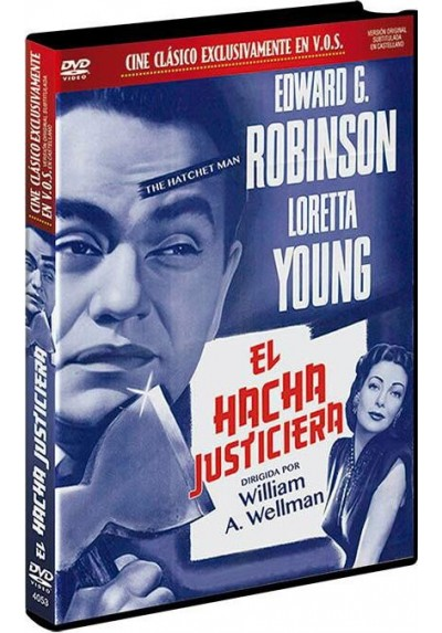 El Hacha Justiciera (V.O.S) (The Hatchet Man)