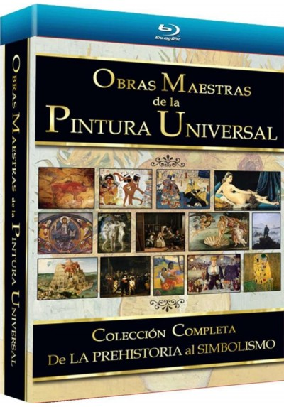Pack Obras Maestras De La Pintura Universal - Vol. 1 (Blu-Ray)