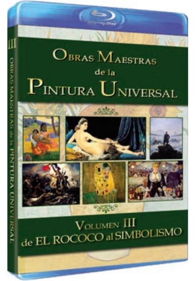 Obras Maestras De La Pintura Universal - Vol. 3 (Blu-Ray) (BD-R)