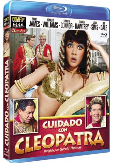Cuidado Con Cleopatra (Blu-Ray) (Carry On Cleo)