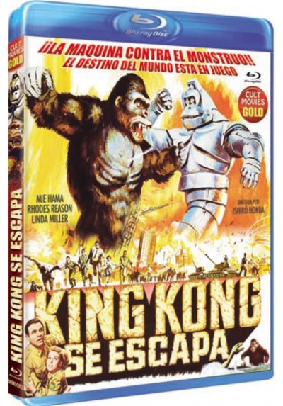 King Kong Se Escapa (Blu-Ray) (Kingu Kongu No Gyakushû)
