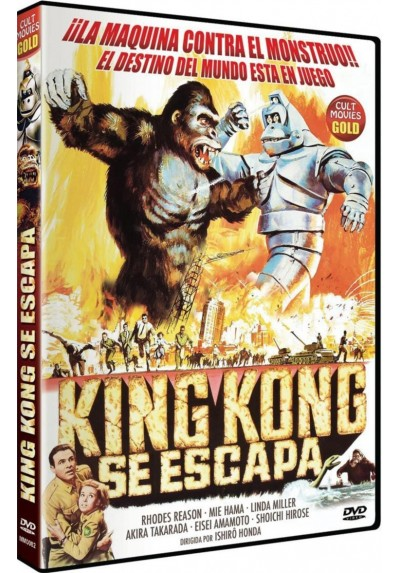 King Kong Se Escapa (Kingu Kongu No Gyakushû)
