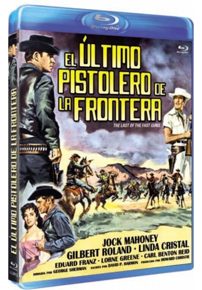 El Ultimo Pistolero De La Frontera (Blu-Ray) (The Last Of The Fast Guns)