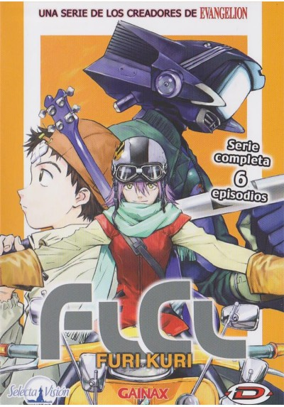 Flcl Furi Kuri - Serie Completa