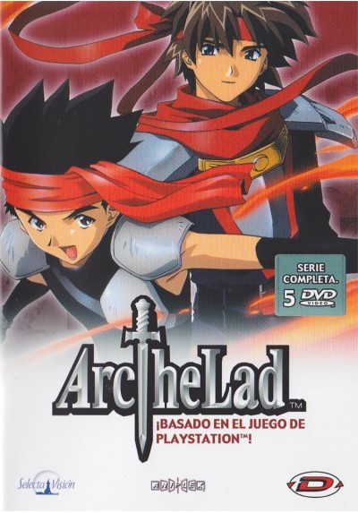 Arc The Lad - Serie Completa