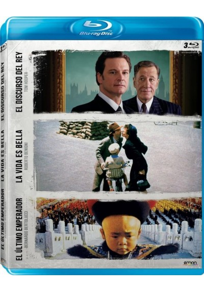 Pack Bernardo Bertolucci + Roberto Benigni + Tom Hopper (Blu-Ray)